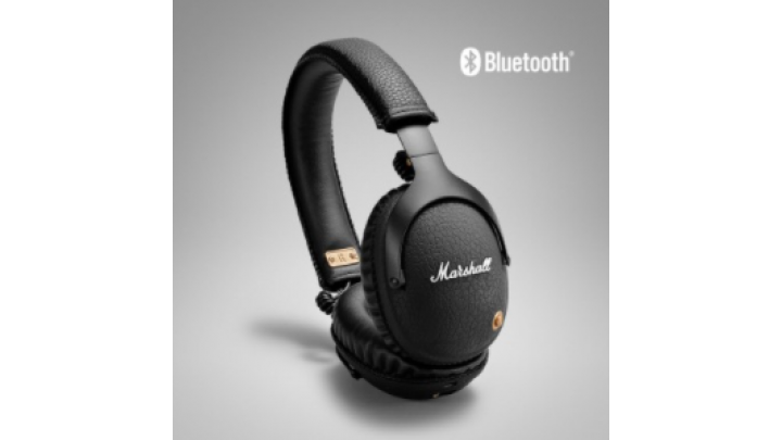 photo couverture casques Marshall MONITOR BLUETOOTH BLACK