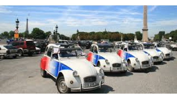 photo couverture Rallyes et course d'orientation en 2CV