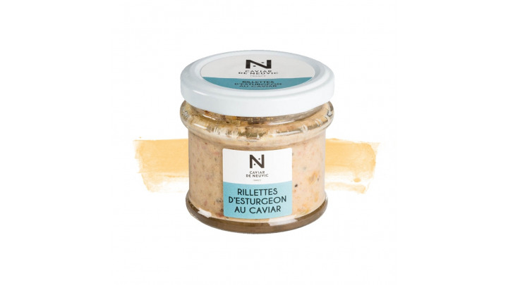 photo couverture RILLETTES D'ESTURGEON AU CAVIAR - 90 GRAMMES