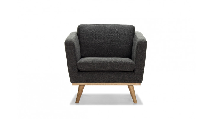 photo couverture FAUTEUIL 50'S ANTHRACITE
