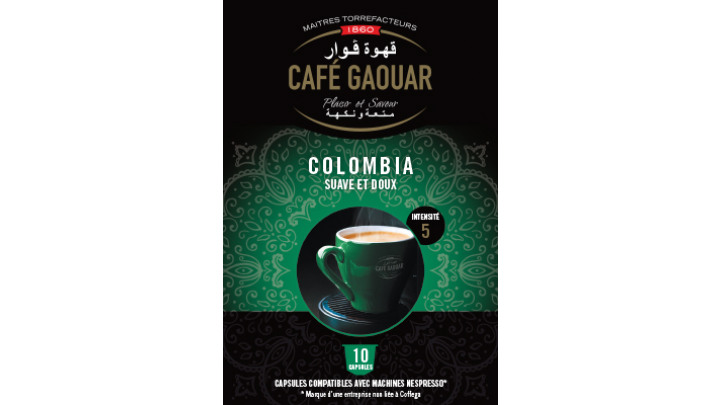 photo couverture CAFE GAOUAR CAPSULES