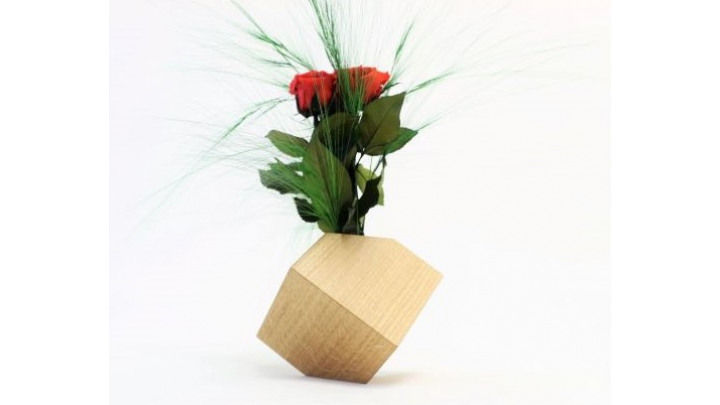 photo couverture Vase en bois
