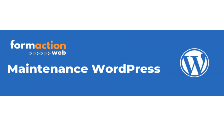 photo couverture Maintenance WordPress