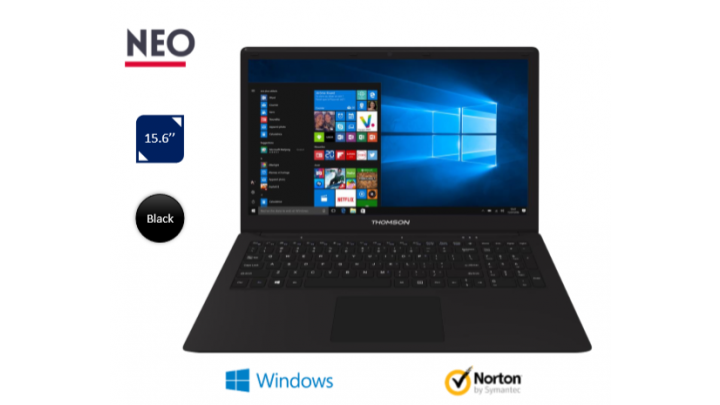photo couverture THOMSON - NEO - CLASSIC NOTEBOOK (WIN 10) - CORE I7 SKL - 15.6""