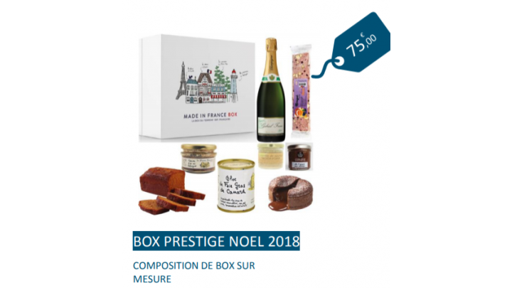 photo couverture Made in France Box - Box Prestige Noel 2018