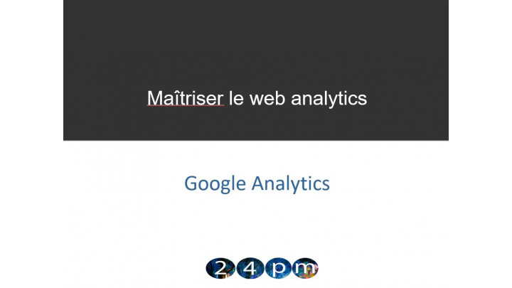 photo couverture Formation online 1 pers-1 mois: Maitriser Google Analytics