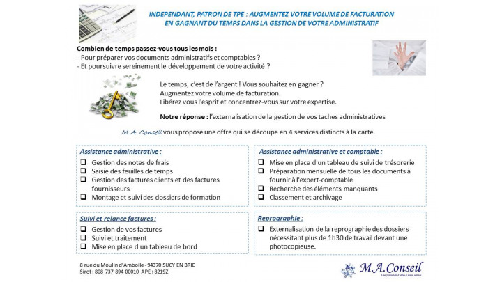 photo couverture Assistance Administrative Externalisée