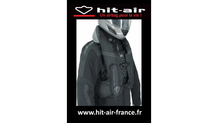 photo couverture Gilet Air Bag : moto et équitation