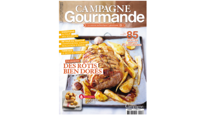 photo couverture Presse Magazine | Univers cuisine