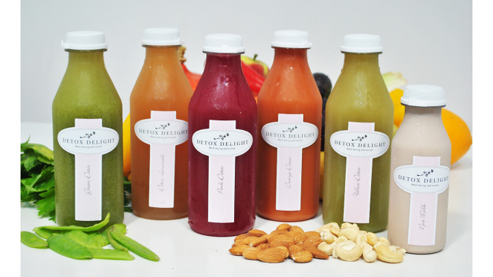 photo couverture Boissons detox
