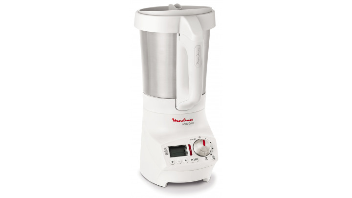 photo couverture MOULINEX Blender chauffant 1.8 L Blanc - Soup & Co - LM904110